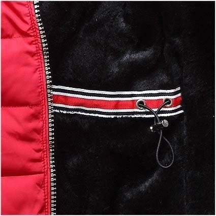5d1094e039 38558x48 38558 Fekete színű téli kabát plüss béléssel kényelmes ...