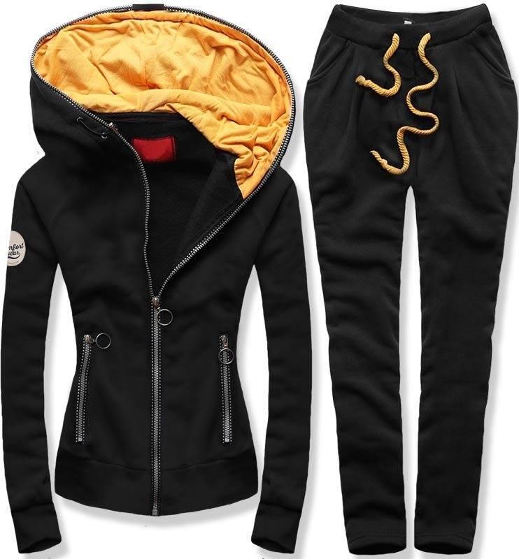 35bfe7d7ca 38558 Fekete színű téli kabát plüss béléssel kényelmes meleg kabát ...