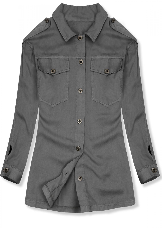 617b1fa1d7b3 38558x48 38558 Fekete színű téli kabát plüss béléssel kényelmes ...
